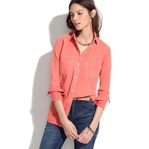 Madewell S perfect chambray ex-boyfriend shirt